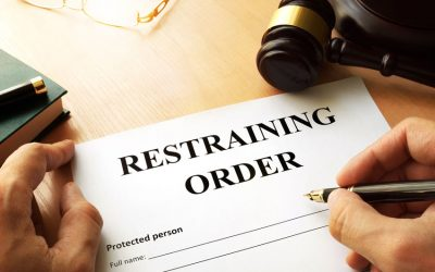 Restraining Orders in California